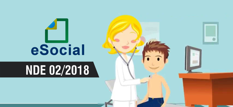 Confira a NDE 02/2018 destinado aos Órgãos Públicos