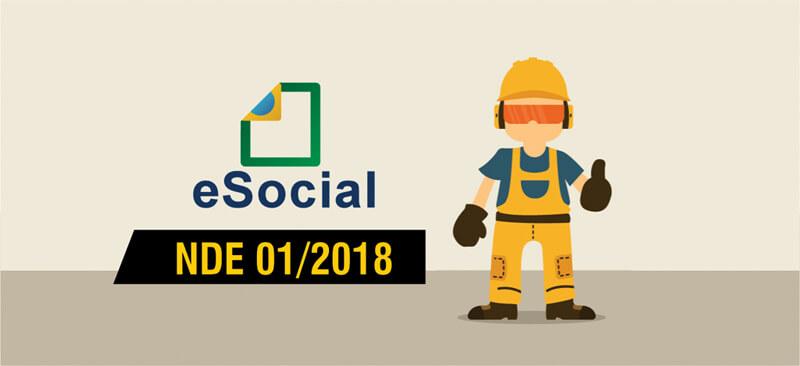 Confira a primeira NDE 01/2018