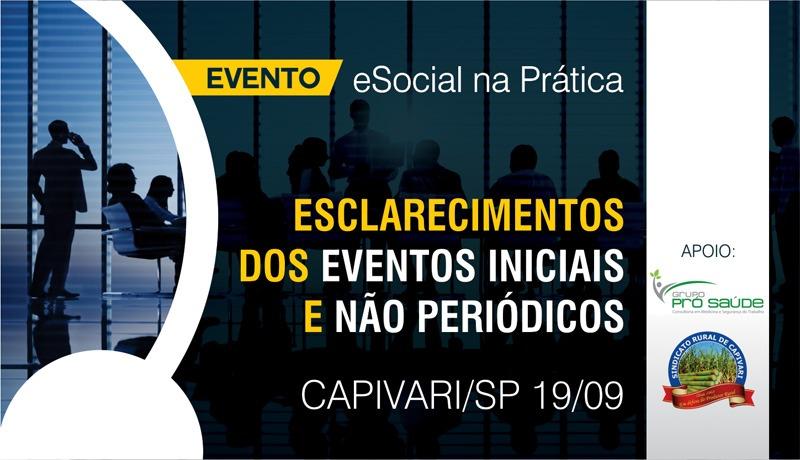 eSocial na prática - Esclarecimentos dos eventos Iniciais e não periódicos