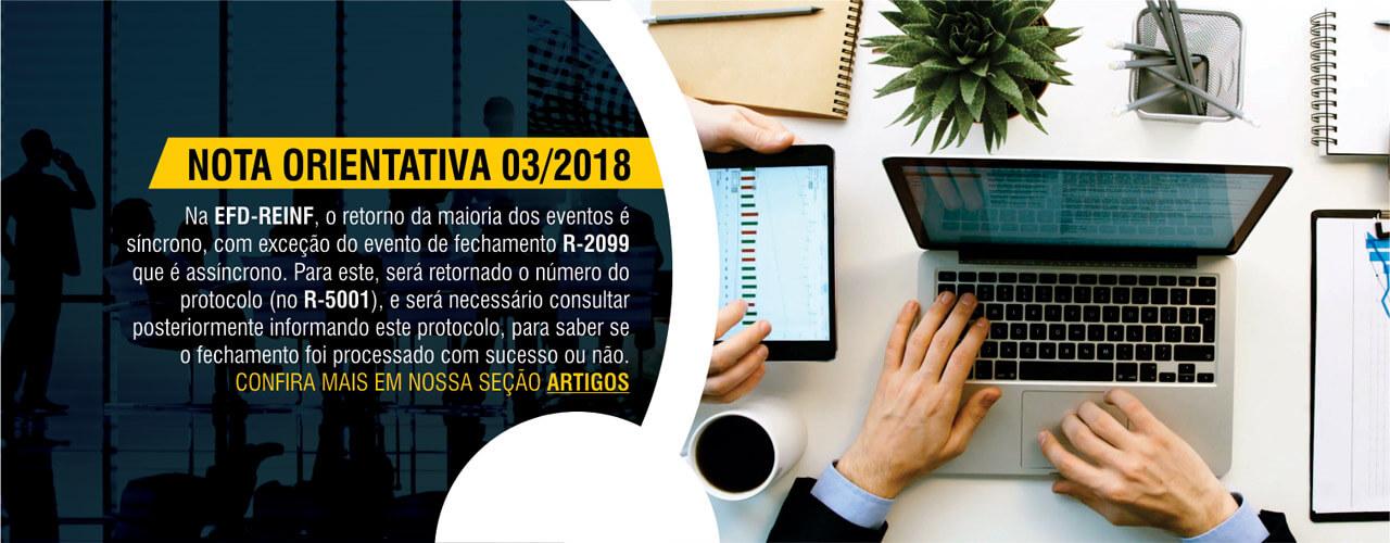 Nota Orientada 03/2018